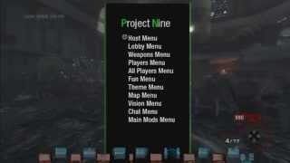 bo1 1 13 project 9 first all client zombie mod menu hosted by southsidemodder