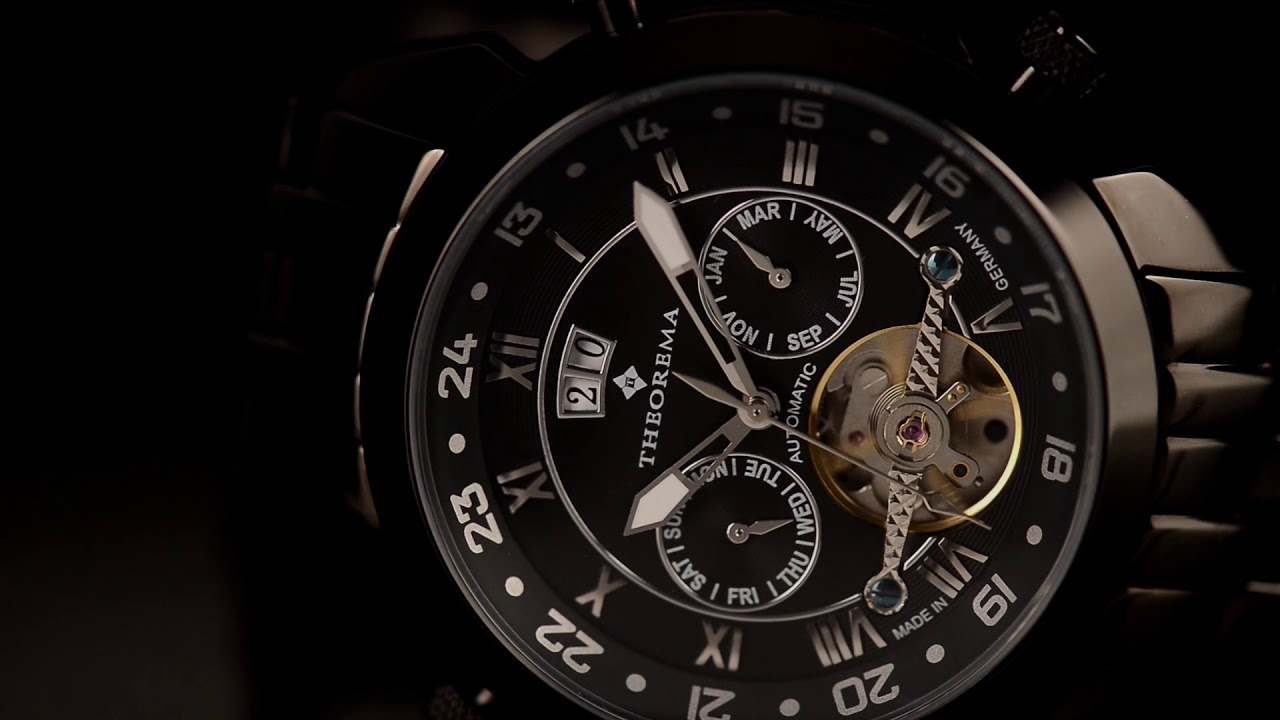 Tufina Watches - Made in Germany Marco Polo Theorema - YouTube