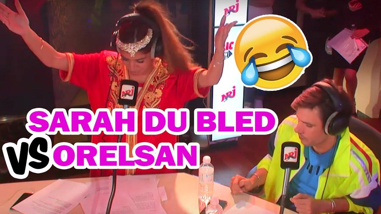 """Sarah du Bled remixe """"la pluie"""" d'Orelsan - Le RicoShow sur NRJ"""