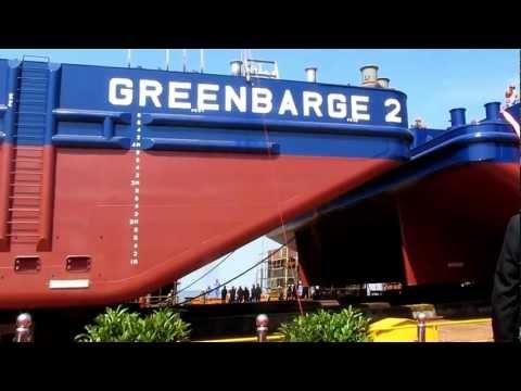 "Launching of ""GREENBARGE 2"""
