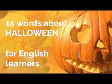 15 Words - About Halloween