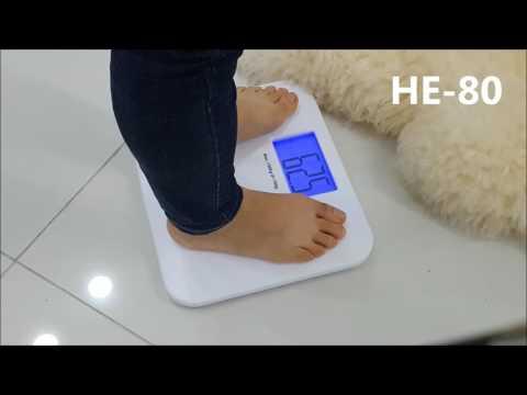 카스 블루아이 디지털 체중계 HE-80