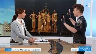 France 3 - JT 12/13 - Ophélie Masure / Alex Meïer