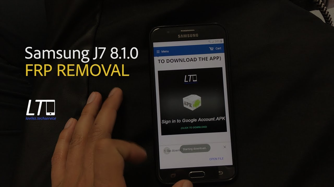 How To Remove Frp On J7 Prime Bypass Google Account SAMSUNG