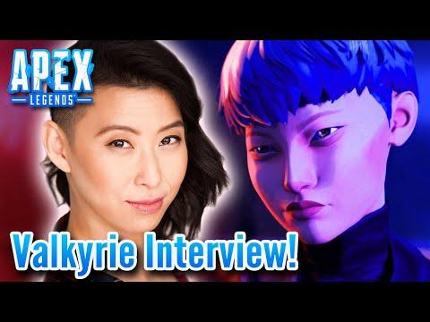 Erika Ishii Interview | Valkyrie Apex Legends! Season 9 NEW LEGEND