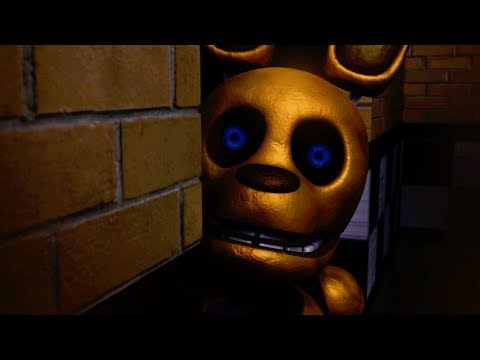 DO NOT MOVE...SPRING BONNIE IS WATCHING!   Five Nights At Fredbear's (Part 1)