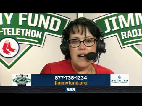 WEEI/NESN Jimmy Fund Radio-Telethon: Brock Holt