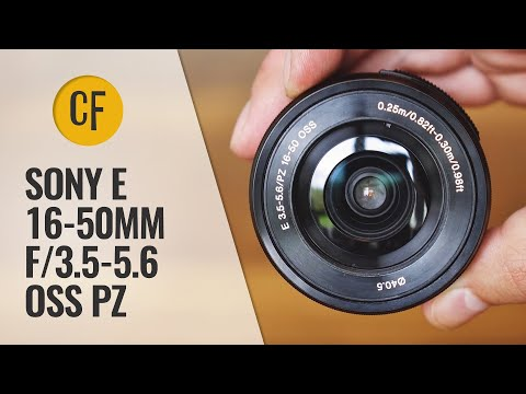 Sony 16-50mm f/3.5-5.6 OSS PZ lens review with samples