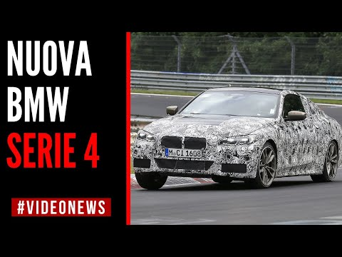 BMW SERIE 4 2020: la coupé tedesca IN PISTA al NURBURGRING | Ultime #videonews