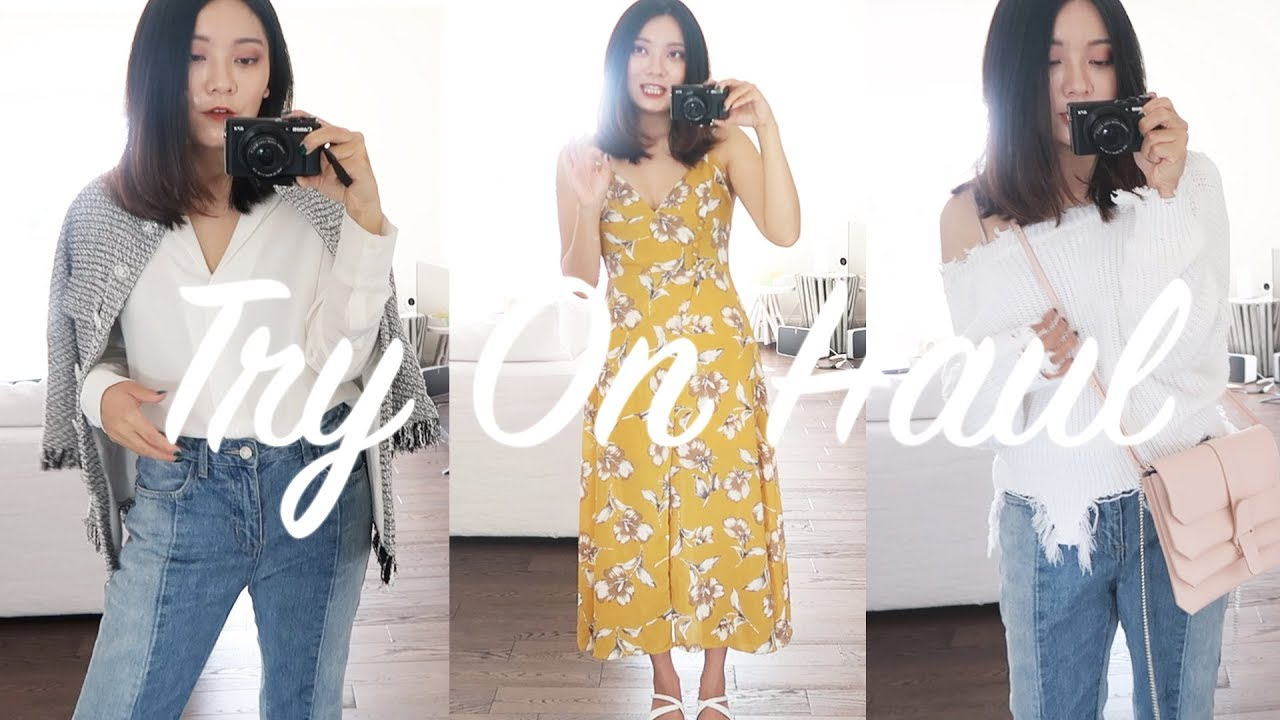 [VIDEO] - Pre-Fall Haul/Recent Purchases | Outfit Ideas | HeyChenny 5