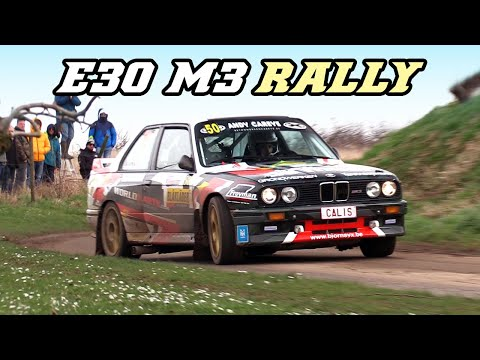 Listen to the High-Pitched Wail of These BMW E30 M3 Rally Cars