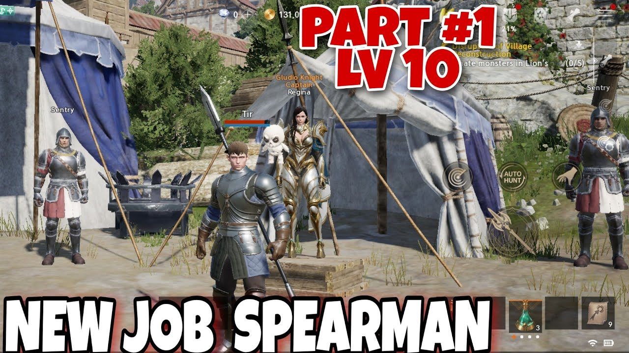 NEW JOB (SPEARMAN ) | Lineage 2 M (ENGLISH) MMORPG | MAX GRAPHIC | Android/IOS