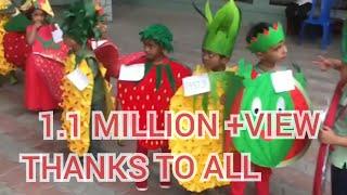 First Prize Wining  Fancy Dress Competition Ideas for kids / fruits 🍇 fancy dress  ideas for kids
