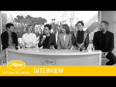 JUSTE LA FIN DU MONDE - Interview - VF - Cannes 2016