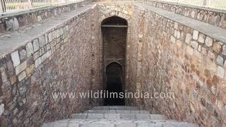 Purana Qila Baoli - Hidden drinking water step-well from medieval India