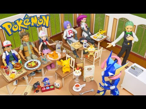 Download Youtube: Pokemon Pikachu Cafe - Candy Toys (Re-Ment Miniatures)