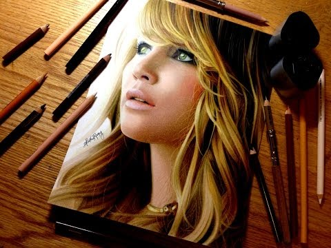 Drawing Jennifer Lawrence