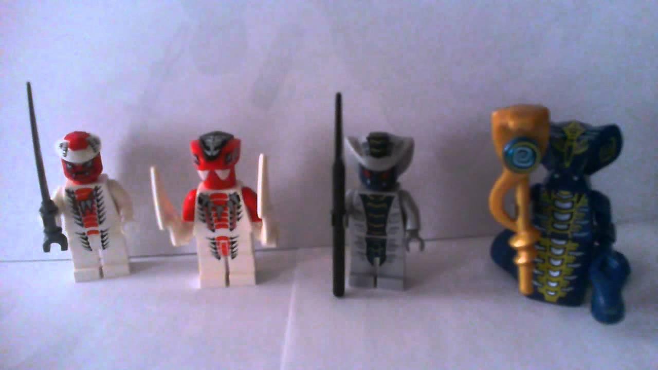 My Lego Castle Ninjago 2012 Serpentine Army November 2011