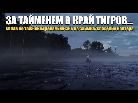 видео: Рыбалка в тайге. Сплав. Жизнь на заимке. Чуть не потеряли коптер с материалами!