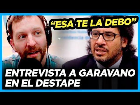 GARAVANO en EL DESTAPE.