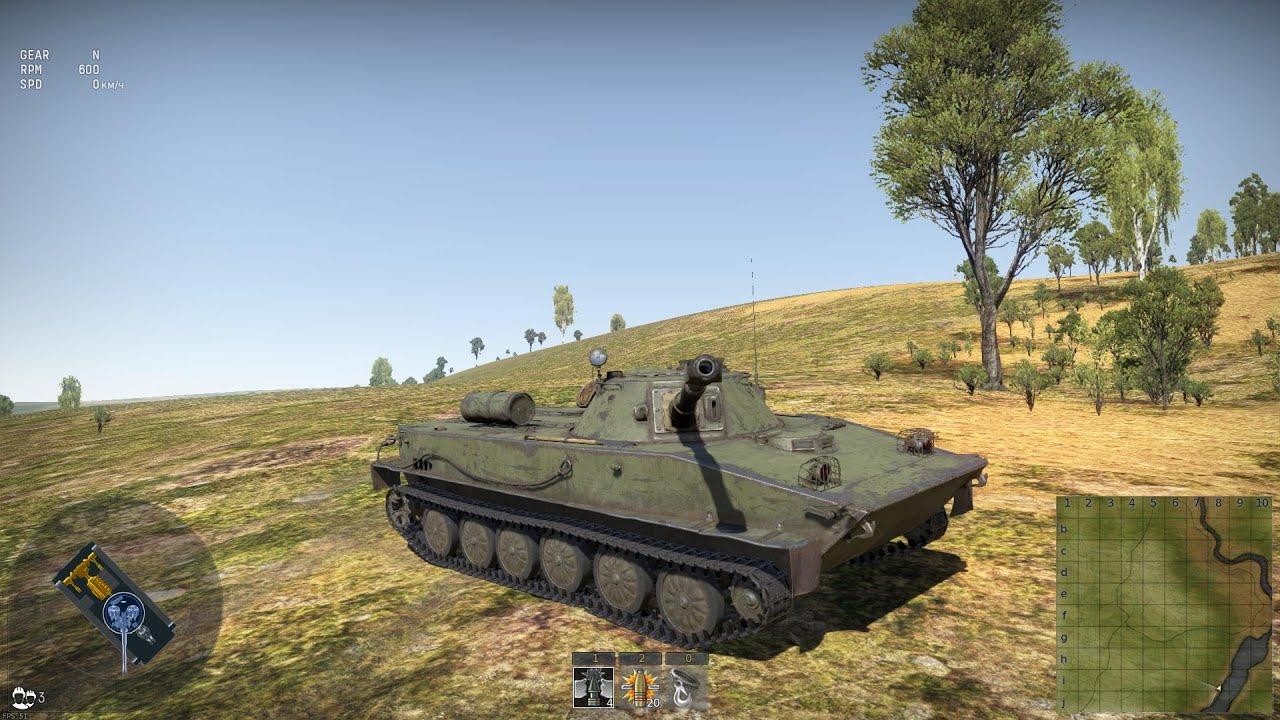 вар тандер плавающий танк
