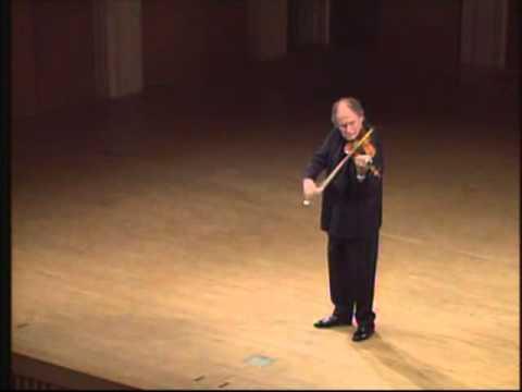 Bach - Chaconne - Gitlis