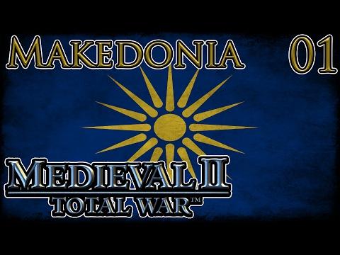 Let's Play Medieval 2 Total War Europa Barbarorum 2 Makedonia Part 1