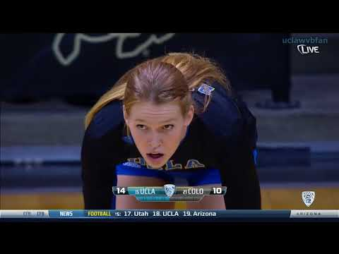 UCLA at Colorado - NCAA Women's Volleyball (Nov 6th 2014)