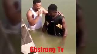 A 20 years boy got drown in weija river while being baptized so sad R.I.P boy