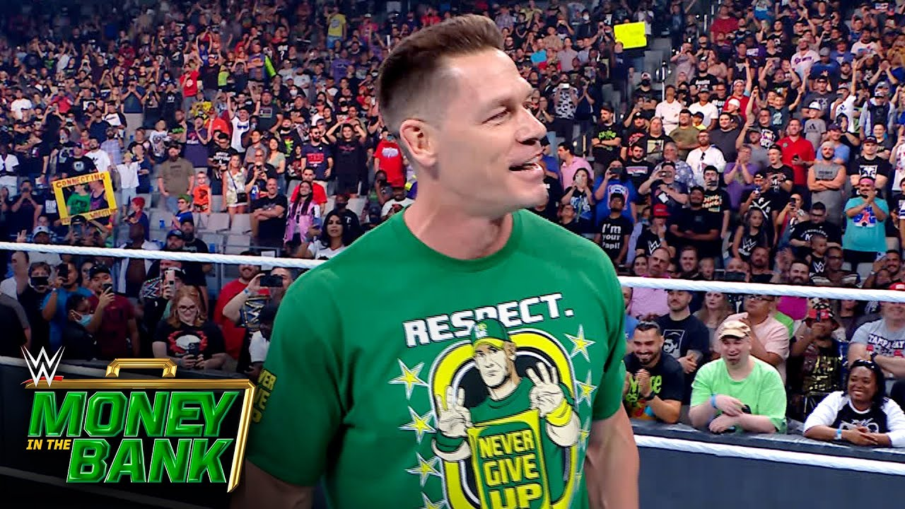Cena addresses the WWE Universe after WWE Money in the Bank: WWE Network Exclusive, July 18, 2021