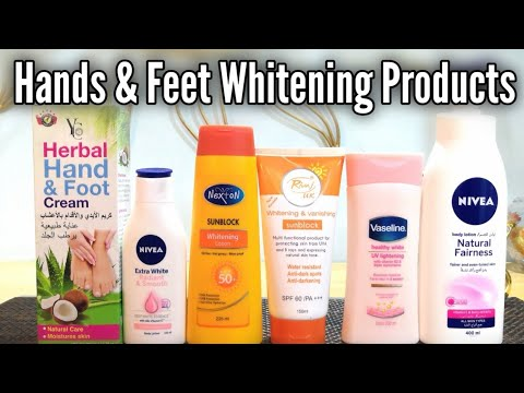 Hand and Foot Whitening Lotions, Get Soft, Beautiful & Fairer Hands with Amazing Products