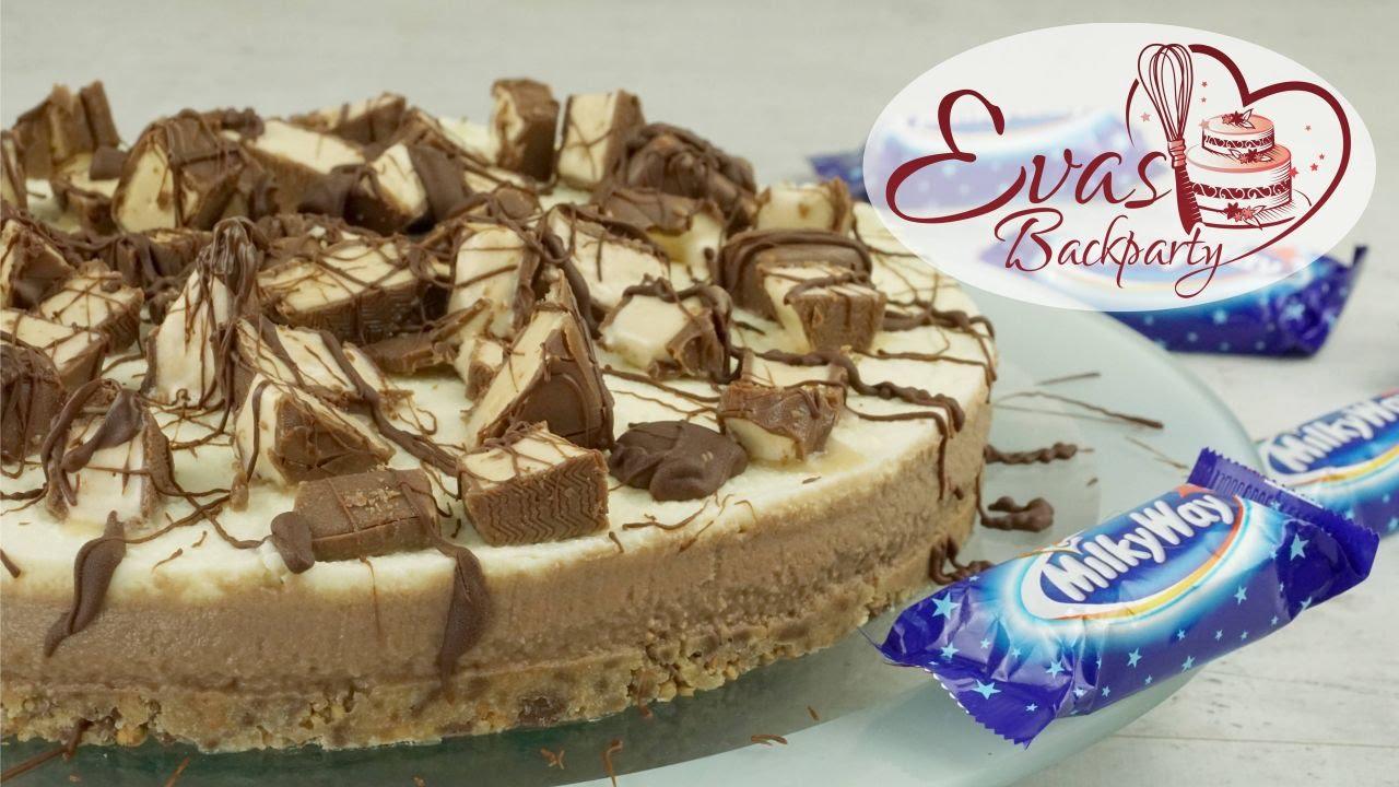 Milkyway Torte No Bake Kuhlschranktorte Sussigkeitentorte