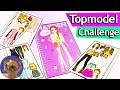 Top Model Dress Up Challenge | One Piece of Clothing Per Page | Creativity Challenges