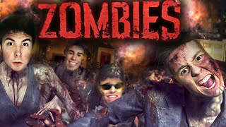 """ZOMBIES ARE COMING!!"" - Black Ops 3 ZOMBIES THE GIANT con Willyrex, Alexby y Alpha!"