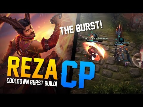 Vainglory Gameplay - Episode 328: SO MUCH BURST!! Reza |CP| Jungle Gameplay [Update 2.7]