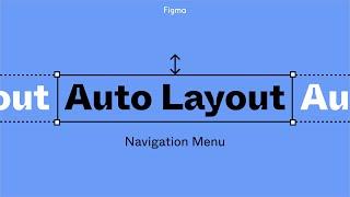 Figma tutorial: Auto layout navigation menu