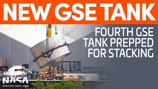 SpaceX Prepares to Build a Fourth GSE Tank | SpaceX Boca Chica
