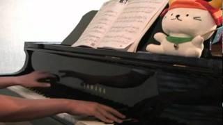楽譜はヤマハの月刊ピアノ、2011年5月号のものを使い ました。昔か...