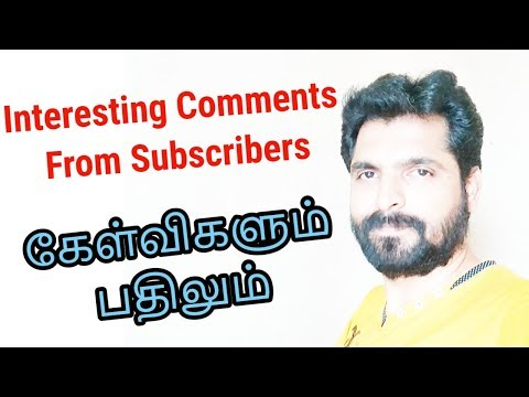 Interesting comments | Questions and Answers | Tamil Share