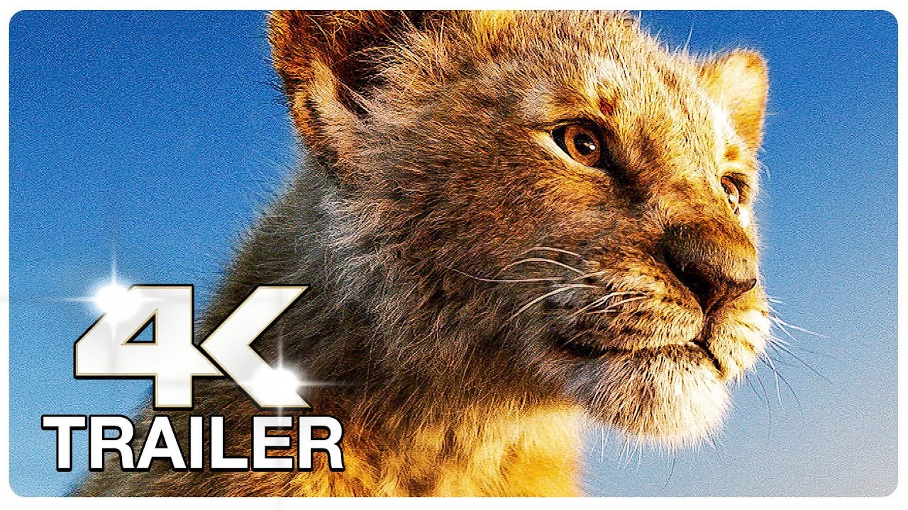 THE LION KING : 3 Minute Trailers (4K ULTRA HD) NEW 2019