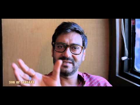 Bichdann Song Making | Son Of Sardaar | Ajay Devgn, Sonakshi Sinha