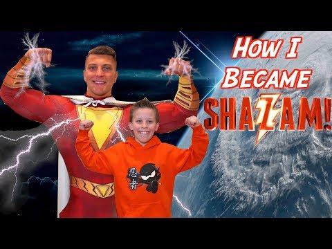 How I Became Shazam! Paxton's Secret Story