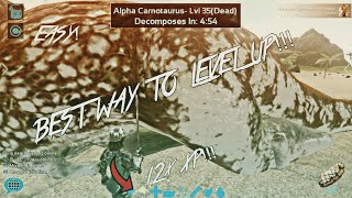 BEST/EASIEST WAYS TO LEVEL UP!   ARK: Survival Evolved Mobile   Tutorial