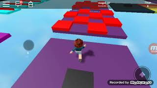 Let's try the longest parkour of roblox