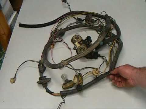 wiring diagram for 1971 chevelle quot how to quot freshen up your tail light wiring harness youtube
