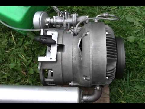 SACHS WANKEL ENGINE ( First Test Run )