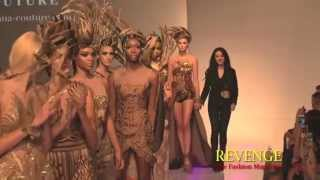 GARUDA : Diana Couture by Diana Putri: S/S Couture 2016 @ Couture Fashion Week New York