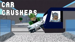 PLAYING WITH MY BROTHER-MASMA061(Roblox Car Crushers)