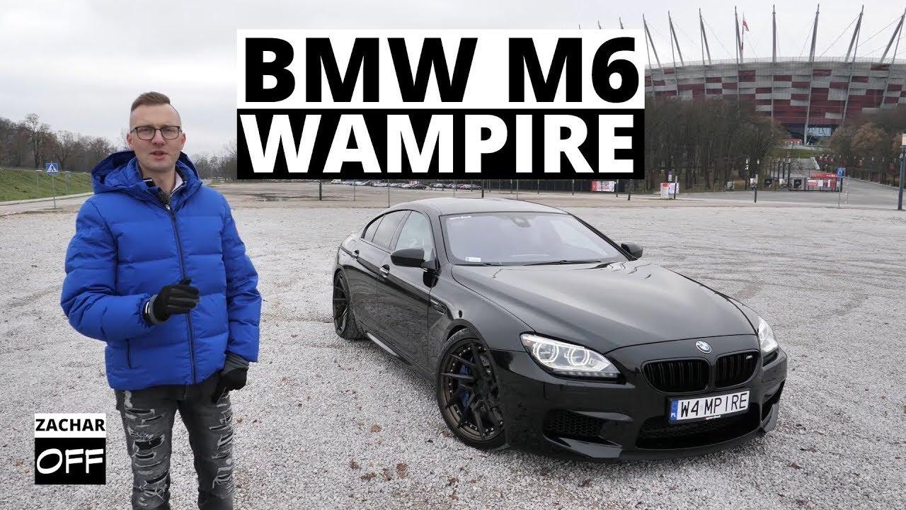 BMW M6 Stage2 740 KM i 1000 Nm - My name is Dracula... James Dracula
