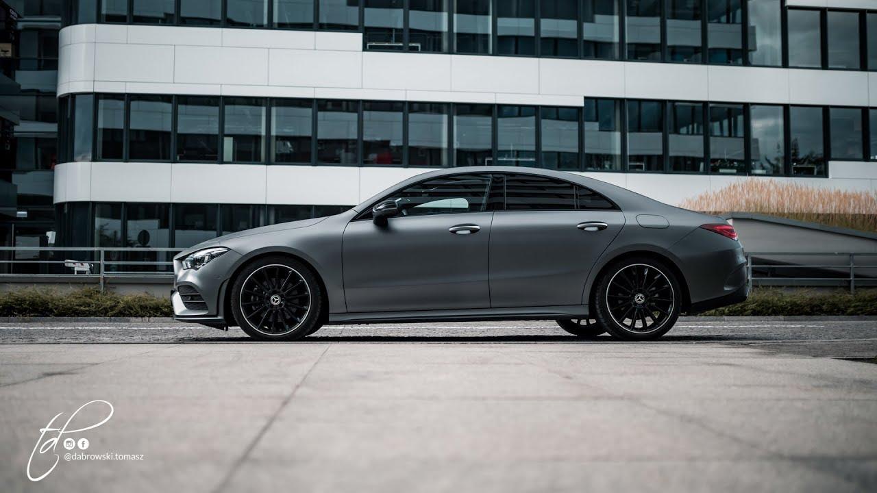 Mercedes CLA 220 4Matic 2019 test PL Pertyn Ględzi - YouTube